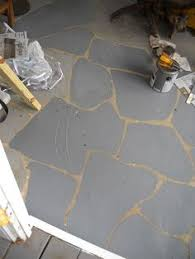 how to paint a concrete floor start at the back of the gift
