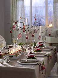 Ball Table Decorations 45 Diy Christmas Table Setting U0026 Centerpieces Ideas Family