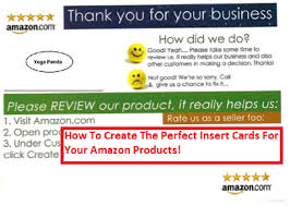 fba sellers guide to product insert cards