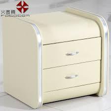 fire totem stylish minimalist modern bedroom nightstand drawer