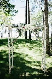 wedding arches michigan lakeside michigan wedding grace