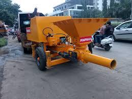 concrete pump attachment for tractors u0026 loader backhoes skid