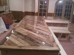 bar top sealant kitchen counters out of pallets no instructions idea only