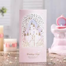 polka dot wedding invitations wishmade pink groom pattern castle wedding