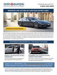 location voiture avec si e b spoiled member area auto europe