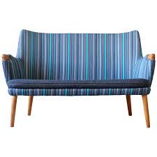 hans wegner ap20s oak ap stolen sofa loveseat danish modern