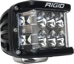 rigid industries led driving lights rigid industries 26131 dually side shooter led driving light cube