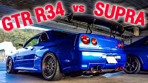 nissan r34 engine toyota supra vs nissan skyline gtr r34 not stock acceleration