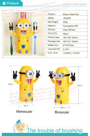 minions toothbrush holder kids funny bathroom accessories buy