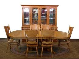 Light Oak Dining Room Sets Hardwood Dining Room Furniture Throughout Solid Oak Dining Room