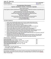 customer service resume template free customer service resume