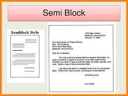 Semi Block Letter Format Business Letter 3 Semi Block Style Application Letter Format Farmer Resume