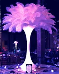 centerpieces rental rent a centerpiece ostrich feather l shade manzanita tree