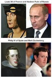 Vladimir Putin Meme - vladimir putin mark zuckerberg s doppelgangers from the past meme
