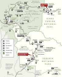 Yosemite Park Map Kings Canyon Maps Npmaps Com Just Free Maps Period