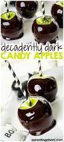 decadently dark candy apples parenting chaos