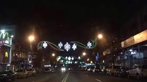 christmas street lights in bay ridge brooklyn new york youtube