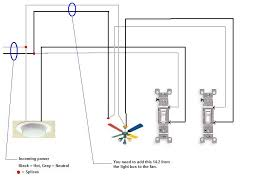 i am using two single pole switches one to the light and one to