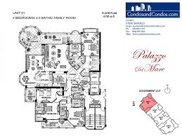 Palazzo Floor Plan Condos For Sale Fisher Island 4 Bedroom 5 Bedroom Fisher Island
