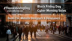 2017 black friday cyber monday discounts for website designers