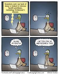 Lack Of Sleep Meme - lack of sleep fowl language comics