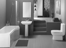 Gray And Tan Bathroom - design of bathroom in small space round self rimmed marble sink