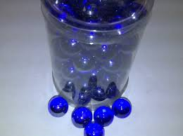 Decorative Glass Stones For Vase Vase Fillers Tbc Decorative Marbles Cobalt Blue 100 Glass
