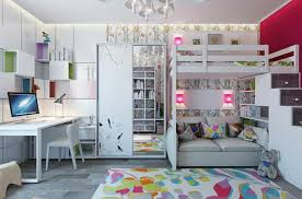 chambre pour 2 ado aménagement chambre d enfant dans un appartement design feria