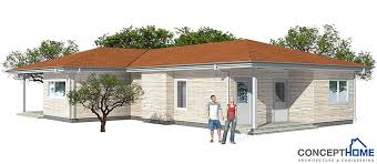 affordable home ch73 in modern architecture and low cost to build