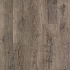 Locking Laminate Flooring Pergo Outlast Vintage Pewter Oak 10 Mm Thick X 7 1 2 In Wide X