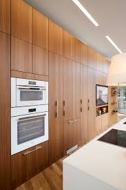 Miele Kitchens Design by Siematic Pure Kitchen Siematic Wood Veneer Natural Walnut