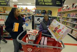 target in store black friday black friday shopping frenzy fizzles in stamford stamfordadvocate