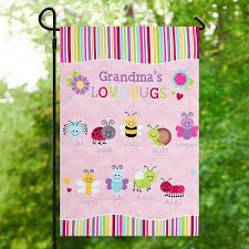 personalized bugs garden flag walmart