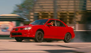 this movie trailer features a subaru wrx drifting like never before