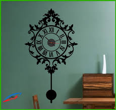 wall decor clock wall art with true mechanism clock old clock