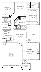 narrow lot house plans with courtyard on narrow home floor plans