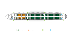 Airbus A320 Floor Plan by Fleet Fleet Alitalia