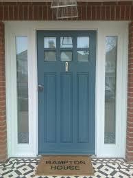Exterior Door Sale Front Doors 1950s Style Glazed Front Door Midcentury