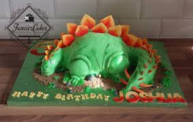 handcrafted 3d dinosaur birthday cake fancier cakes