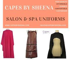 hairdresser capes trendy 97 best salon spa uniforms images on pinterest spa uniform
