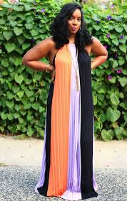 how to wear a color block maxi dress u2014 style u0026 poise