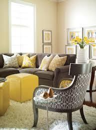 Living Room Ideas Brown Sofa by Wonderful Yellow And Gray Living Room Ideas U2013 Gray And Yellow Wall