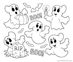 imagenes de halloween para imprimir y colorear dibujos de fantasmas para imprimir y colorear en halloween etapa