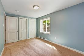 Light Blue Bedroom Light Blue Bedroom With Closets Stock Image Image Of Residential