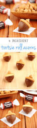 tootsie roll acorns an easy no bake recipe with just 4