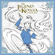 amazon legend korra coloring book avatar