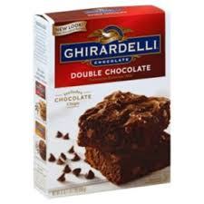 ghirardelli chocolate double chocolate brownie mix shop cake mix