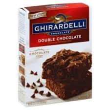 ghirardelli chocolate double chocolate brownie mix shop cake mix