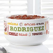 personalized bowl personalized chili bowls chili today