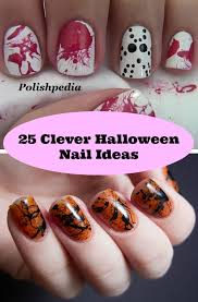 25 clever halloween nail ideas diy cozy home